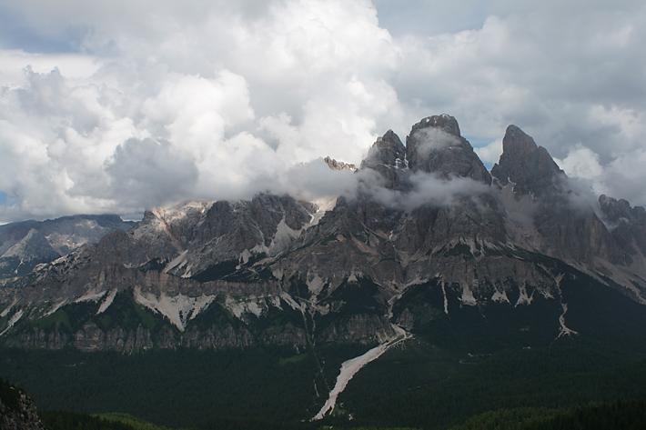 Monte Cristallo 3221m.n.m.