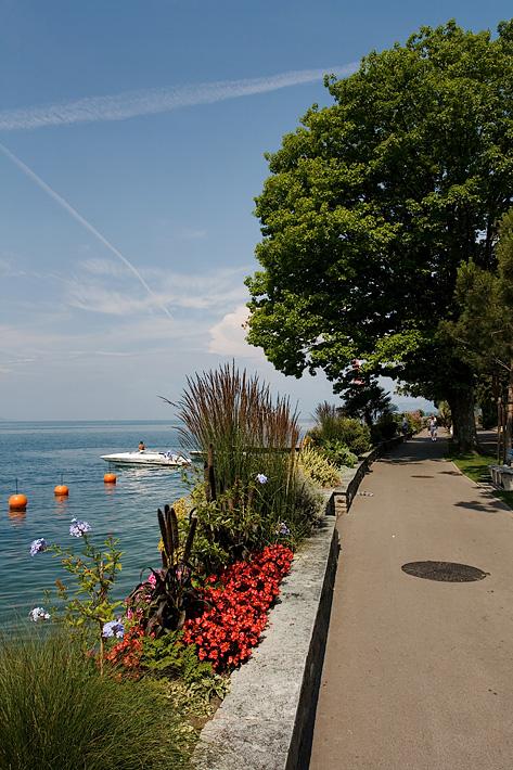 Na břehu Ženevského jezera
